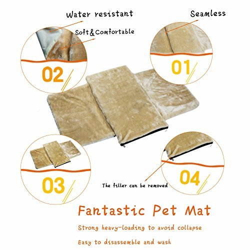 Pet Carrier for Dogs & Cats - Airline Approved Expandable waterproof Soft Animal Carriers -Portable Soft-Sided Air Travel Bag- Eco-friendly material Roomy With a Side Pocket and a Fleece Bed by Odie Tom (Image #8)