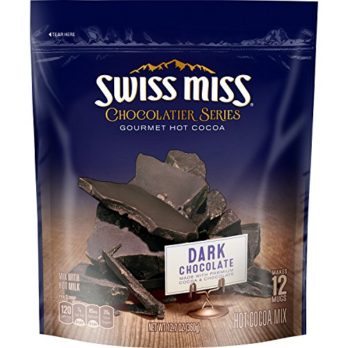 Series Chocolate Hot (Swiss Miss Chocolatier Series Gourmet Hot Cocoa Dark Chocolate)
