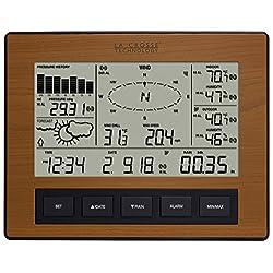 La Crosse Technology WS-2816CH-IT Professional Weather Center, Cherry Finish