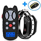 Shock Collar for Dogs, 2019 Newest Flittor Dog training Collar, Rechargeable Dog Shock