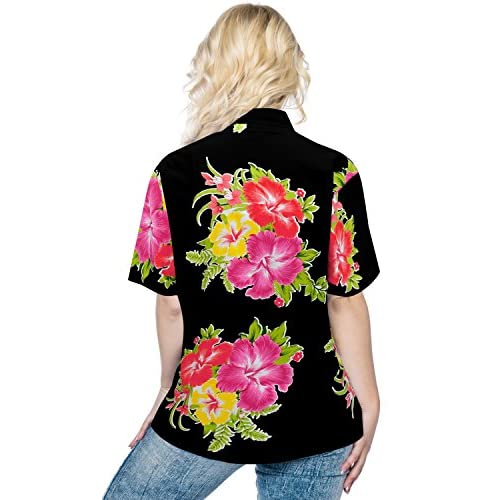5bfb1ed61 chic Women Hawaiian Shirt Blouses Tank Beach Top Casual Aloha Boho Holiday  Stylish