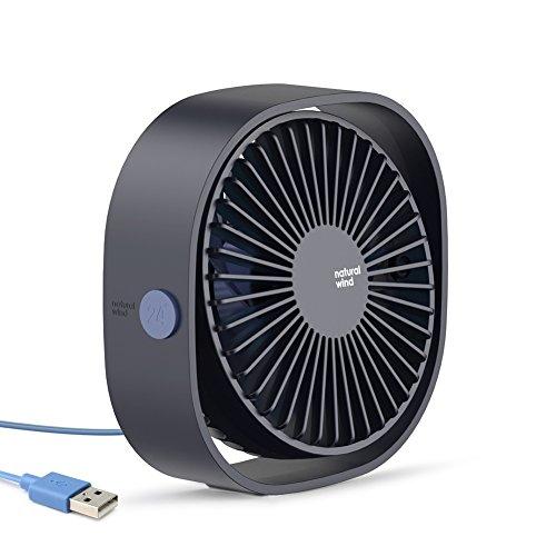 - Portable Desk Fan, Baseus 3-Speed Mini USB Fan, Personal Quiet Cooling Fan, Small Fan for Office Home Desktop