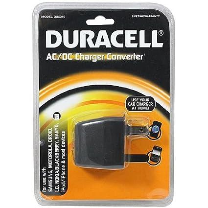 Amazon.com: Duracell AC/DC Charger Converter – du5219: Home ...