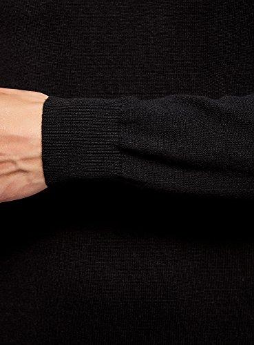 Oodji 2900n Maglione Nero Uomo Ultra Mix Basic Materiali rHFgxUqrBw