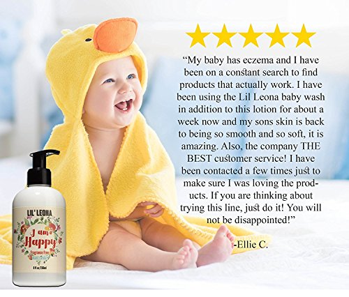 Baby Bath Set: Organic and Natural Newborn Essentials Welcome Gift Set with Baby Washcloths, Baby Lotion, Sulfate Free Baby Shampoo and Body Wash for Baby Registry Gifts for Girls and Boys