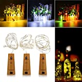 Lights & Lighting - Battery Powered 1m 20leds Cork Shaped Silver...