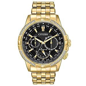 Citizen Eco-Drive Calendrier World Time Men's Watch – BU2082-56E