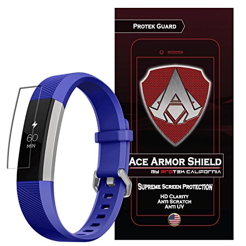 Ace Armor Shield (6 PACK) Screen Protector for the Fitbit Ace for kids/Alta/Alta HR with free lifetime Replacement warranty