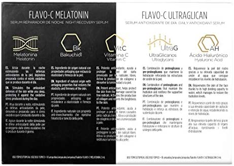 Isdin Isdinceutics Pack Day & Night Flavo-C Ultraglican + Flavo-C ...