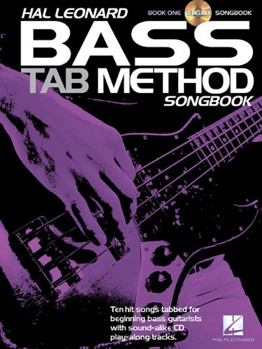 Hal Leonard Bass Tab Method Songbook 1 (Book/CD)