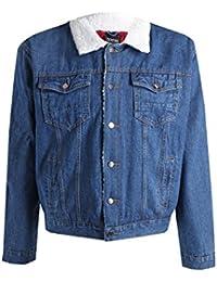 Men's tall jean jacket