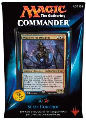 MTG Commander 2015 Edition Magic the Gathering - Seize Control Blue Red Deck New Sealed ()