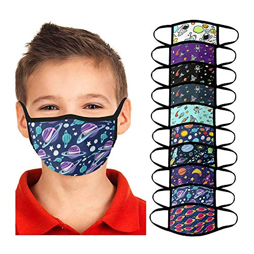 HomeMals 10PCS Kids Safety Breathable Reusable Full Face_Covering, Transparent Hat Lightweight Face_Guard for Outdoor