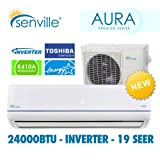 Senville 24000 BTU Ductless Air Conditioner and Heat Pump – Energy Star, Appliances for Home