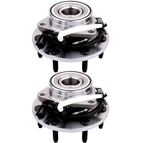 - ECCPP Replacement for Wheel Bearing Hub 515030 X2 Hub Bearing Assembly Hub Assemblies Frony Axle 7 Lugs W/ABS Sensor for Ford F-150 2000-2003 4WD, Ford F-250 1997-1999 4WD