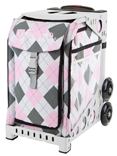 ZUCA Bag Argyle Pink Insert Only