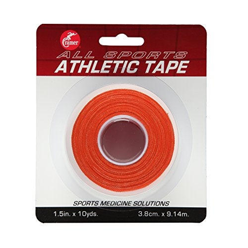- Cramer Team Color Athletic Tape, Easy Tear Tape for Ankle, Wrist, & Injury Taping, Protect & Prevent Injuries, Promote Healing, Athletic Training Supplies, 1.5