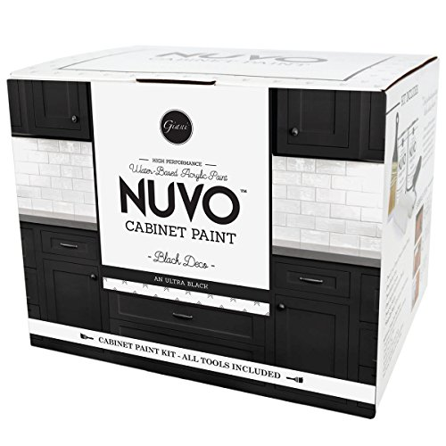 Nuvo Black Deco 1 Day Cabinet Makeover -