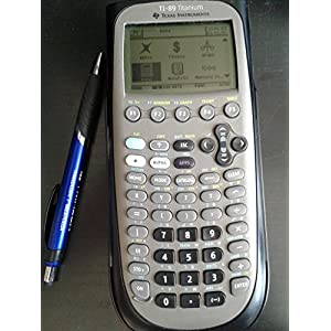 TI-89 Titanium Programmable Graphing Calculator, Sold as 1 Each