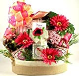 A Mother's Day Retreat Deluxe Gourmet and Spa Gift Basket
