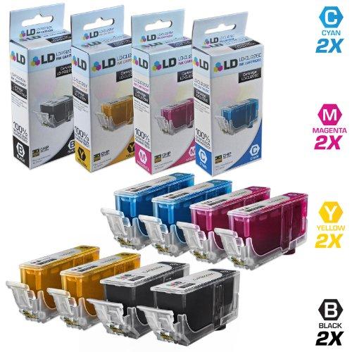 LD Compatible Canon PGI225 / CLI226 8PK Cartridges: 2 PGI225
