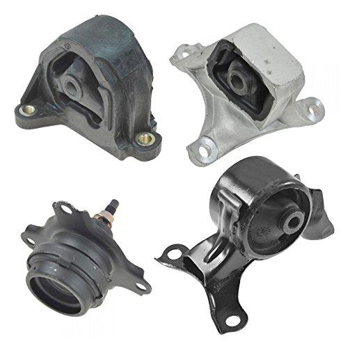 Engine Manual Transmission Motor Mount Kit Set of 4 for Civic Si RSX 2.0L MT ()