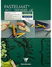 PastelMat pastellkortsdyna, 360 g, 12 ark - blandade färger
