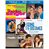 Drew Barrymore Triple Feature (The Wedding Singer / Music and Lyrics / Going the Distance) [Blu-ray]