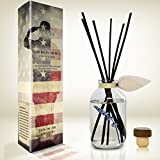 LOVSPA Desert Sage & Citrus Reed Diffuser Sticks Set | Support Our Troops! Proceeds Donated to Support Service Members Stationed Abroad