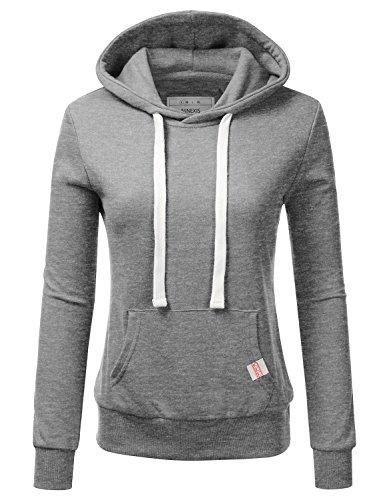 NINEXIS Womens Long Sleeve Fleece Pullover Hoodie Sweatshirt