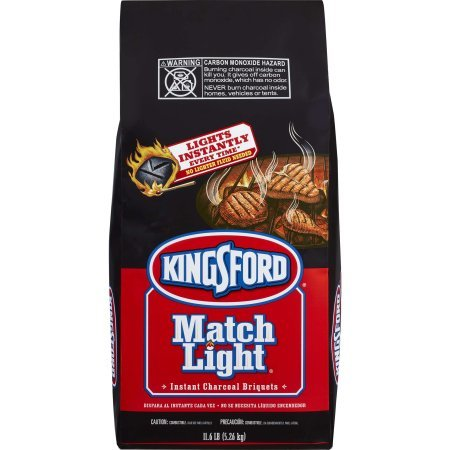 Kingsford Match Light Charcoal Briquettes, 11.6 lbs - 2 Pack by Kingsford