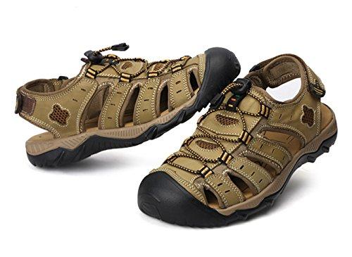 Insun Hommes Sandales Chaussures De Randonnée Cachi38