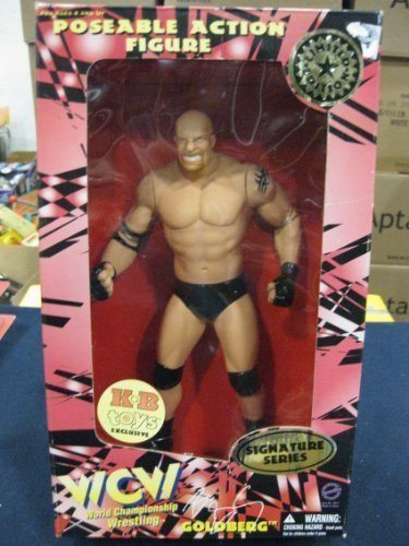 WCW/NWO Goldbwrg Signature Series Limited Edition 12' Poseable Action Figure By Toymakers 1998 by WCW