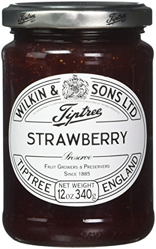 Tiptree Strawberry Preserve, 12-Ounce Jars (Pack of 6)
