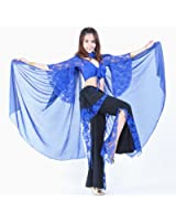Belly Dance Apparel Dreamspell® Professional Trial Lace Sleeve Pants Dancing Set