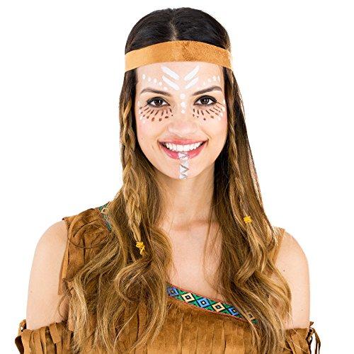 Tectake Dressforfun Damenkostum Sexy Indianerin Kleid