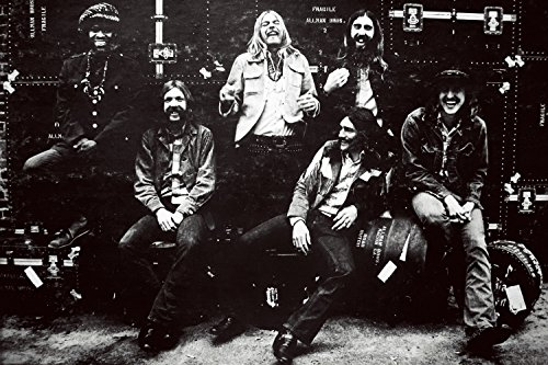 [The Allman Brothers Band Classic Rock Star Band Poster 24x36] (Allman Brothers Posters)