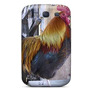 Saraumes Slim Fit Tpu Protector PISXWUG8356WNhPE Shock Absorbent Bumper Case For Galaxy S3