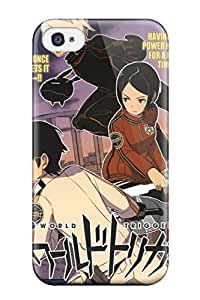 Iphone 4/4s DGNnomV6512mrVmy World Trigger Episode 5 Tpu Silicone Gel Case Cover. Fits Iphone 4/4s