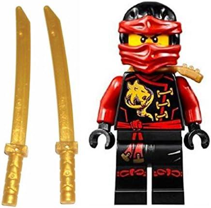 LEGO Ninjago Minifigur Kai Skybound mit 2 Katana aus Set 70591 70605