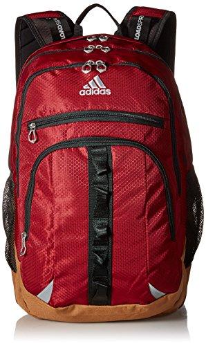 adidas Prime III Backpack, Collegiate Burgundy/Timber, One Size
