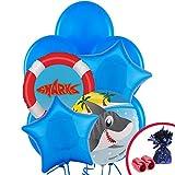 Costume Supercenter BB102228 Shark Party Balloon Kit