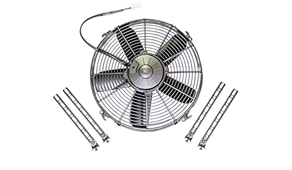 Spal 30100399 13 Curved Blade Pusher Fan