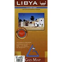 Libya Map (English, Spanish, French, Italian and German Edition) (English and French Edition) by Gizi Map (2005-01-01)