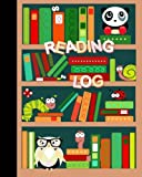 """Reading Log: Gifts for Young Book Lovers/Reading Journal [ Softback * Large (8"""" x 10"""") * Child-friendly Layout * 100 Spacious Record Pages & More. ] (Kids Reading Logs & Journals)"""