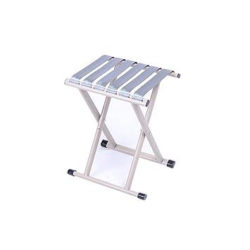 Gelernt Outdoor Einfache Tragbare Aluminium Klapp Hocker Picknick Angeln Hocker Home
