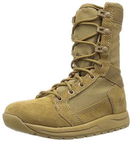 Danner Men's Tachyon 8 Inch Military and Tactical Boot, Coyote, 10 D - Military Combat Desert Boots