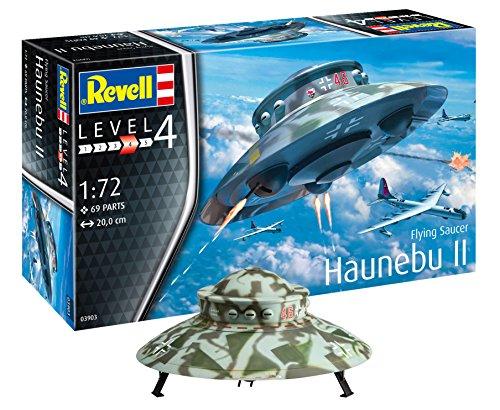 Revell 03903 Flying Saucer Haunebu, Multi Colour, 1:72 Scale