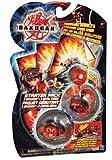 Bakugan Battle Brawlers Series 2 Starter Pack-Grey Mystery Marble,Tan 300 Turkor, Black Gorem