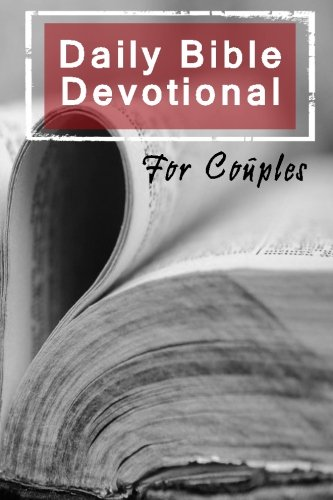 Daily Bible Devotional For Couples: Blank Prayer Journal, 6 x 9, 108 Lined Pages